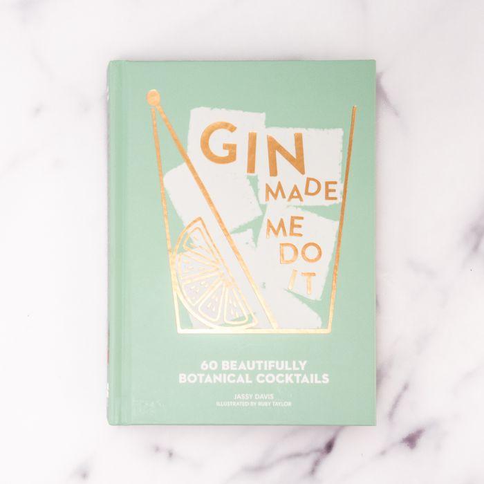 Livre de Cocktails Gin Made Me Do It