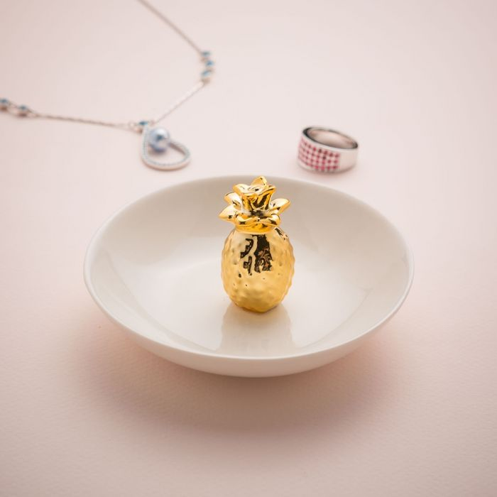 Soucoupe à bijoux Ananas