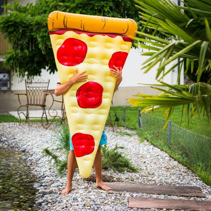 Bouée gonflable Pizza