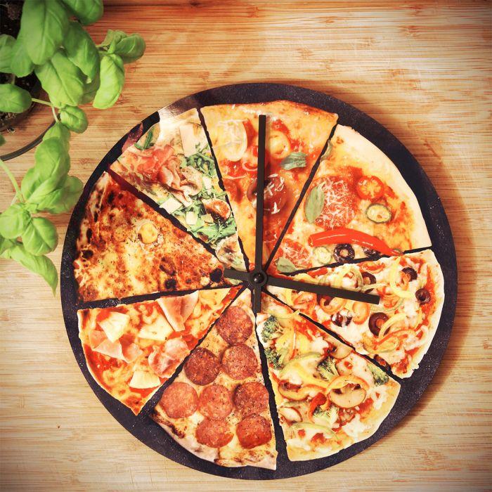 Horloge Pizza