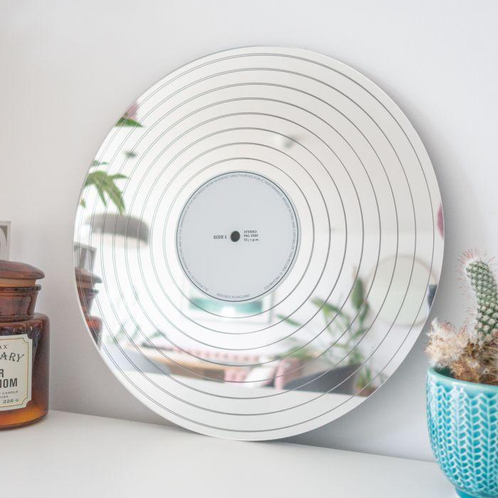 Miroir Disque de Platine