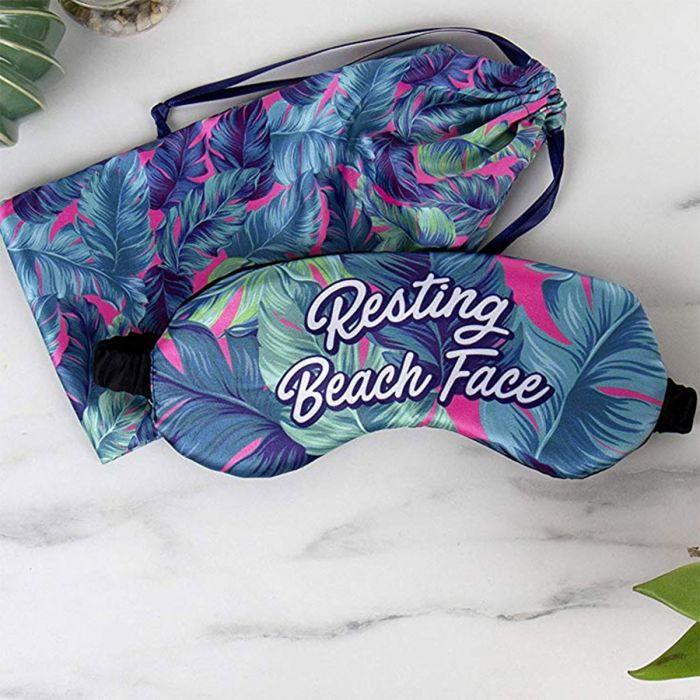 Masque de nuit pour la plage avec pochette