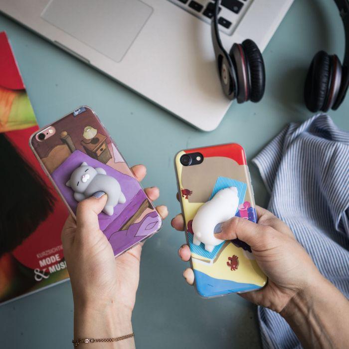 Coque iPhone Petit Animal à pétrir