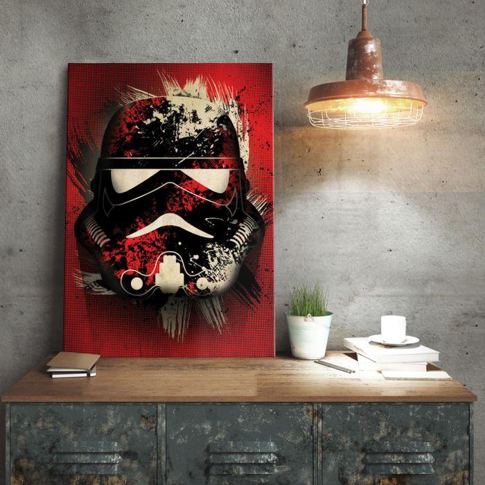 Poster métallique Star Wars – Stormtrooper Splatter