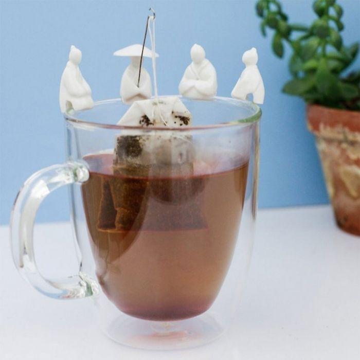Porte-sachet de thé - 4 Pêcheurs