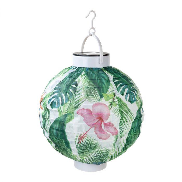 Lanterne Solaire Tropicale pour Extérieur
