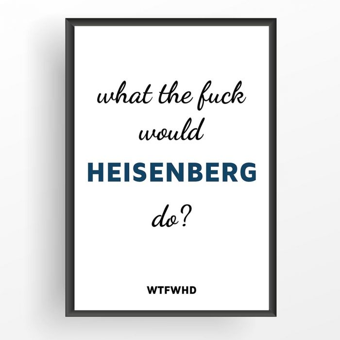 What The Fuck Would [...] Do? - Poster personnalisable