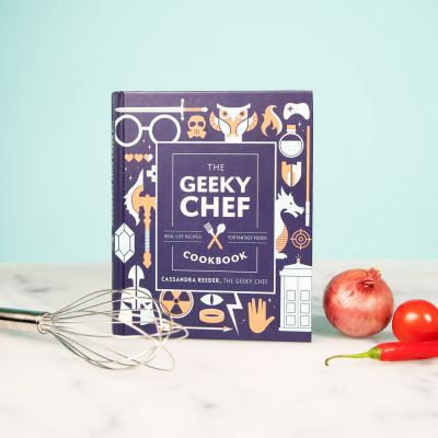 Livre cuisine The Geeky Chef