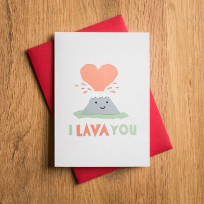 Carte de Saint Valentin – I Lava You