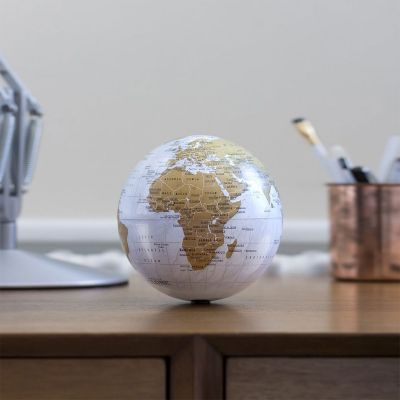 Mini globe rotatif