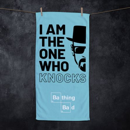 Serviette I Am The One Who Knocks