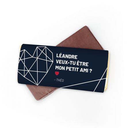 Chocolat Personnalisable Texte