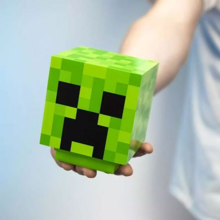 Lampe Minecraft Creeper