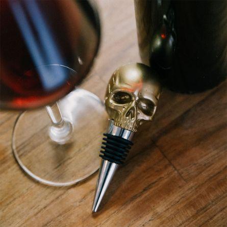 Bouchon de bouteille crâne