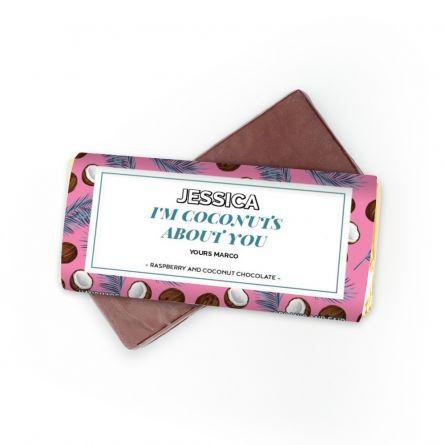 Chocolat avec 4 lignes