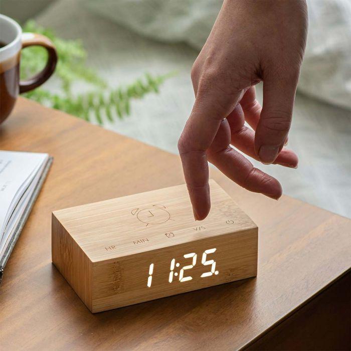 Horloge Réveil Flip Click Clock