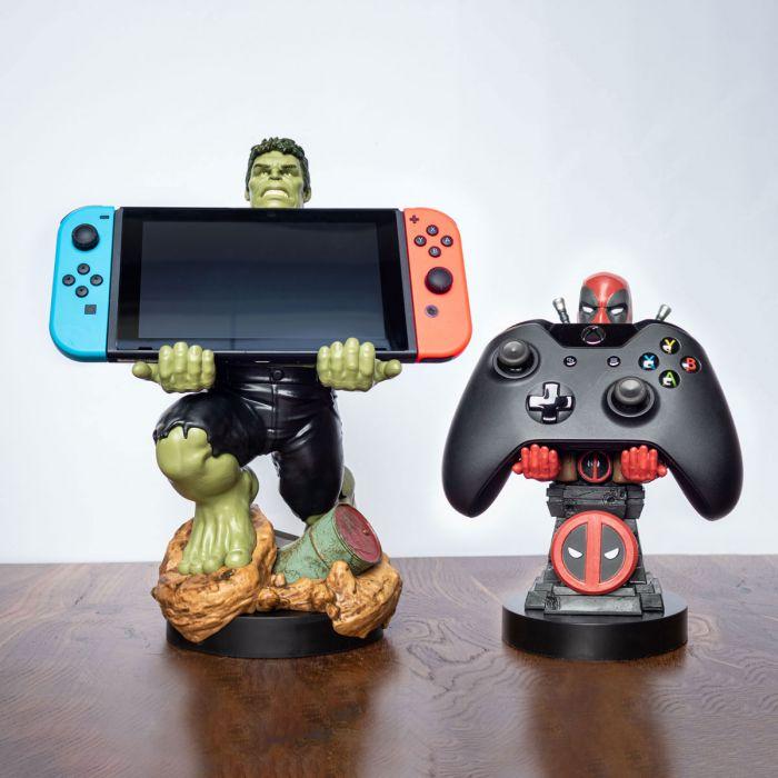 Portes-smartphones Marvel avec câble de chargement