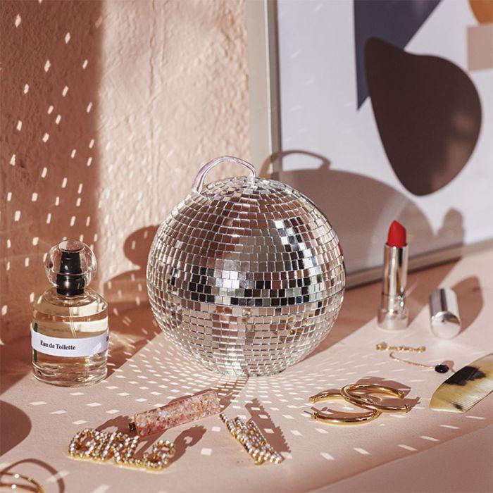 Boîte à bijoux Boule disco
