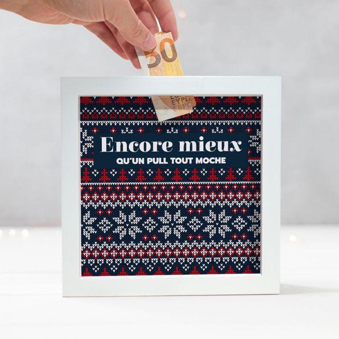 Tirelire avec Motifs de Noël