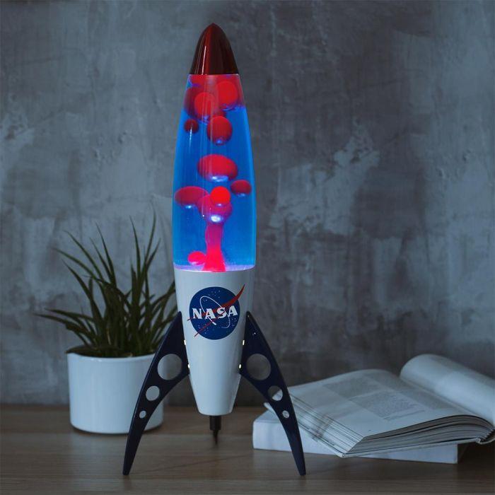 Lampe Magma Galaxie NASA Rétro
