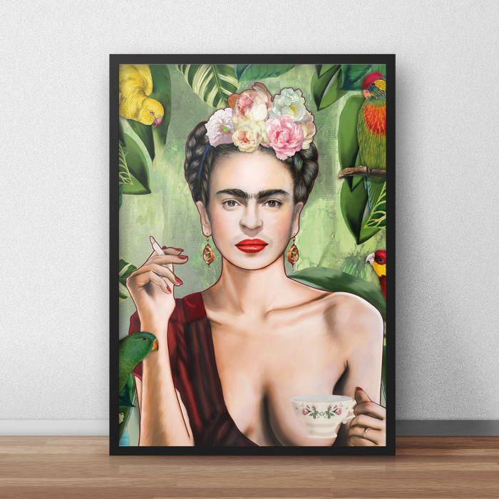 Frida Poster par Nettsch