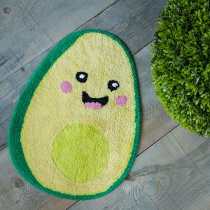 Tapis de bain Happy Avocat