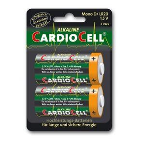 2 Piles Cardiocell Mono D-LR20