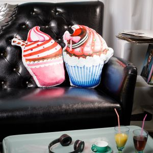 Coussin Cupcake