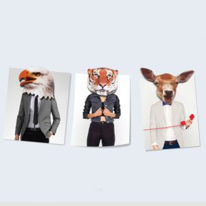 Magnets Frigo Animaux - Set de 9