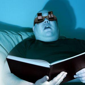 Les lunettes d'angle spéciales lecture