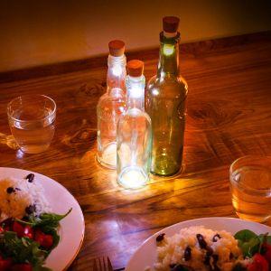Lumières LED pour bouteille avec USB
