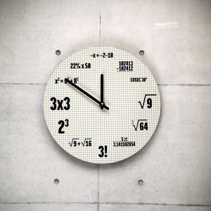 Horloge Mathématiques