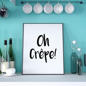 Affiche Oh Crêpe