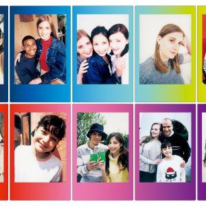 Fujifilm Instax Papier Coloré