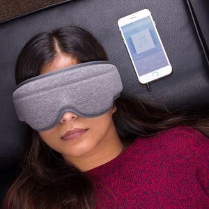 Masque de Sommeil avec Écouteurs Intégrés
