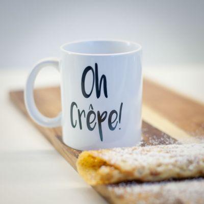 Verres & Mugs - Tasse Oh Crêpe