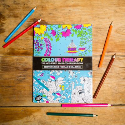 Cadeau pour sa copine - Art thérapie – Coloriages Anti-stress