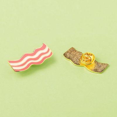 Cadeau Pâques - Pin's Jambon fumé