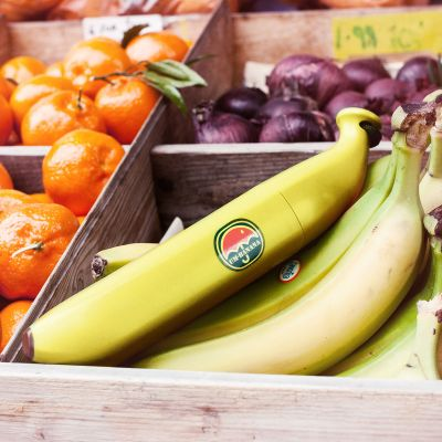 Idées cadeaux pour mettre dans le calendrier de l'avent - Parapluie banane