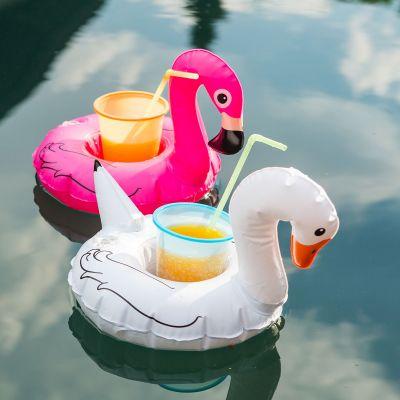 Gadgets d'été - Bouées pour boissons Oiseaux - Lot de 3