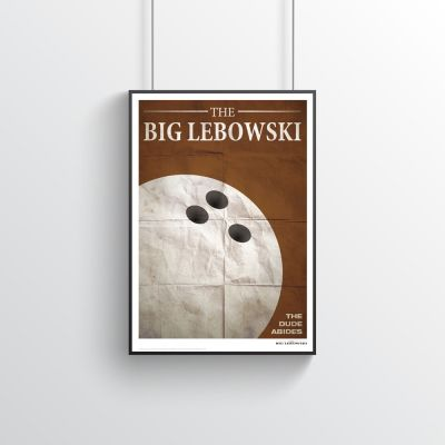 Poster - Poster Citation de Film - The Big Lebowski