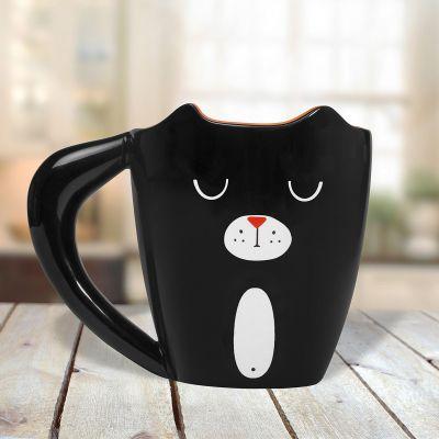 Cadeau Pâques - Tasse Chat Noir
