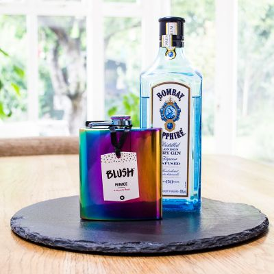 Accessoires de bar - Flasque iridescente
