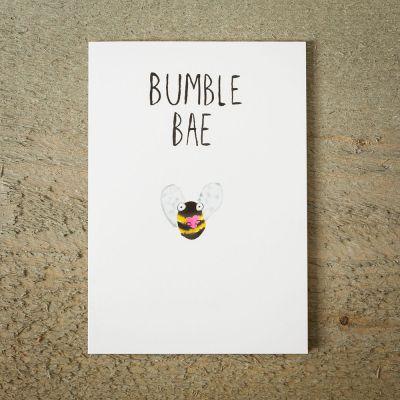 Cadeau Saint Valentin Homme - Carte de vœux Abeille BAE