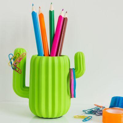 Cadeau 18 ans - Organiseur de Bureau Cactus