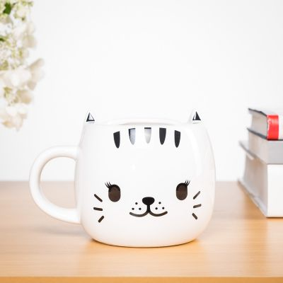 Cadeau 20 ans - Tasse Chat thermosensible