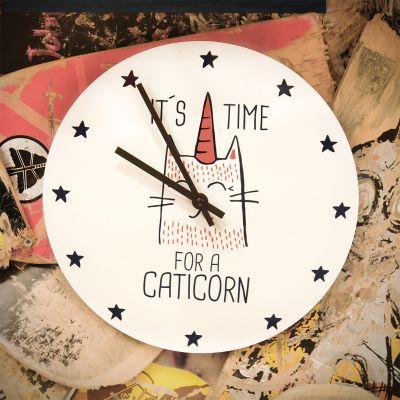 Réveils & Montres - Horloge Caticorn