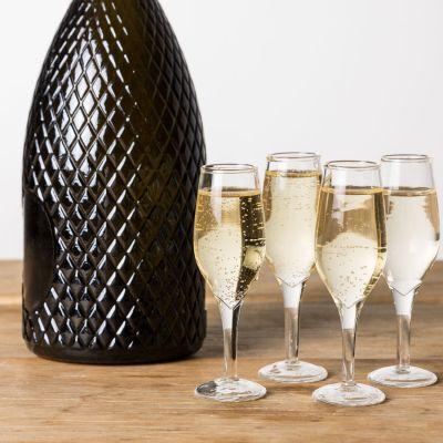 Cadeau 30 ans - Verres à shot en forme de flûtes à Champagne - Lot de 4