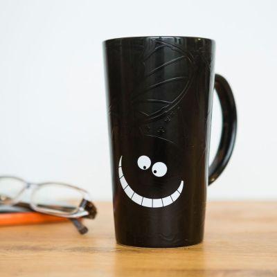 Idées cadeaux pour mettre dans le calendrier de l'avent - Tasse Cheshire Cat Thermosensible