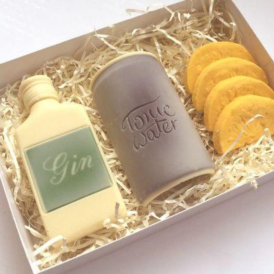 Cadeaux de Noël pour Papa - Gin Tonic en Chocolat